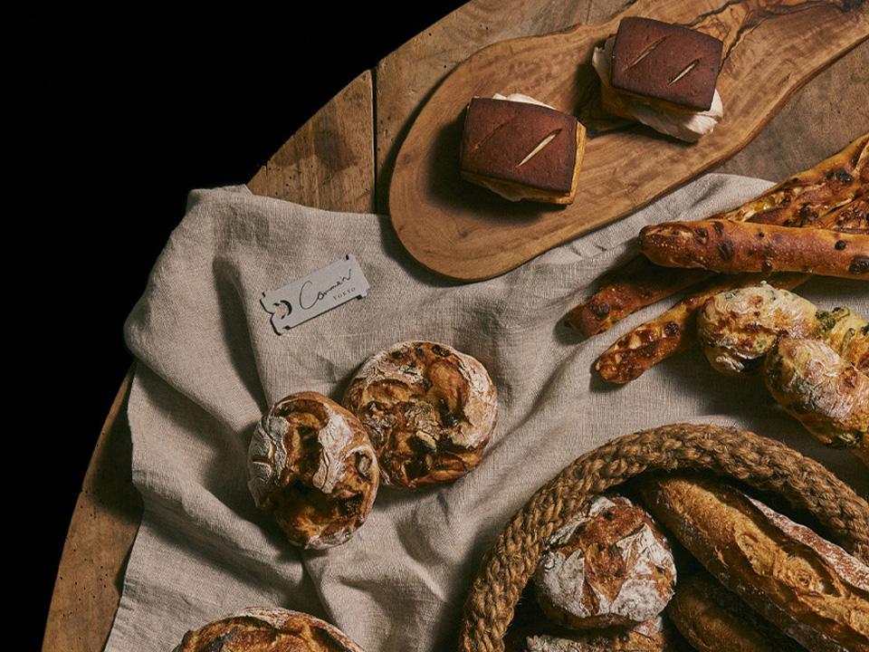 """Boulangerie """"Comme'N"""" Branding"""