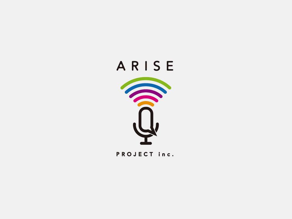 ARISE PROJECT inc. Branding
