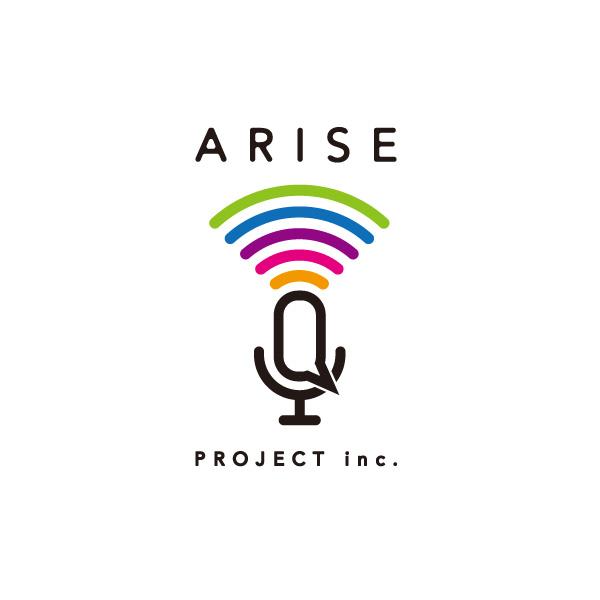 ARISE PROJECT inc. ロゴ &コーポレートサイト